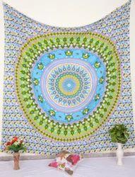 Circle Print Wall Tapestry
