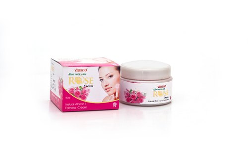 Visiono,GMI pink Aloevera cream with rose, Type Of Packaging: container, Packaging Size: 50gm