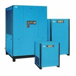 Refrigerated SCR Refrigeration Air Dryer for Industrial, Drying Capacity: 10-100 CFM