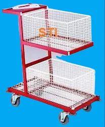 Order Picking Cart/Warehouse Kitting Trolley/Shopping Trolley