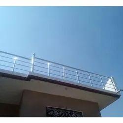 Roof Boundary Steel Railing Rs 500 Feet Baba Traders Id 21427050873