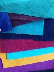 Plain Taffeta Velvet Fabric
