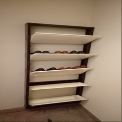 5 rack Wall Mounting Shoe Rack