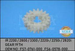 Ir 2200 / 2800 / 3300 / 2220i / 2250i / 2820i Gear 19 TH  OEM NO : FS7-0761-000 , FS6-0578-000