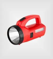 TIGOR Rechargeable Led Torch With Emergency Lamp