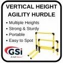 Vertical Height Adjustable Hurdle