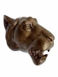 Large Wall Mount Metal Lion Head