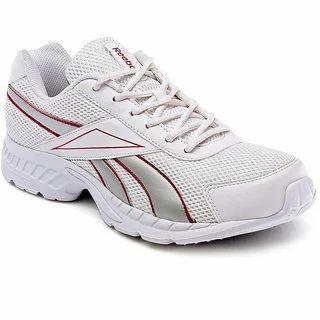 White Reebok Men's Running Shoes, Size