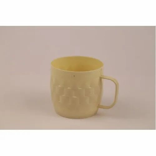 Yellow 200 Ml Plastic Tea Cup, for Home