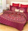 Double Sanganeri Printed Bedsheet
