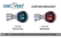 Round Cup And Red Cup Curtain Bracket
