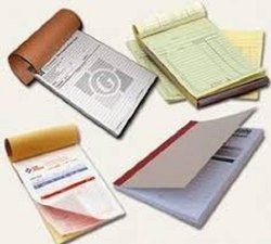 Bill Book Printing And Binding Services