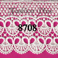 White Chemical GPO Lace From Fashion Plus