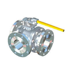 Microfinish Three Way Ball Valve