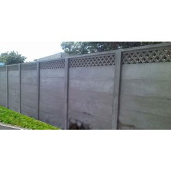 RCC Boundary Precast Compound Wall