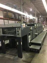 2000 Heidelberg SM 74 - 5 L Offset Printing Machine