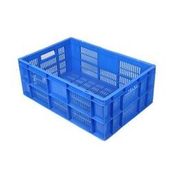 Blue Plastic Storage Crate 600 x 400 TP Series