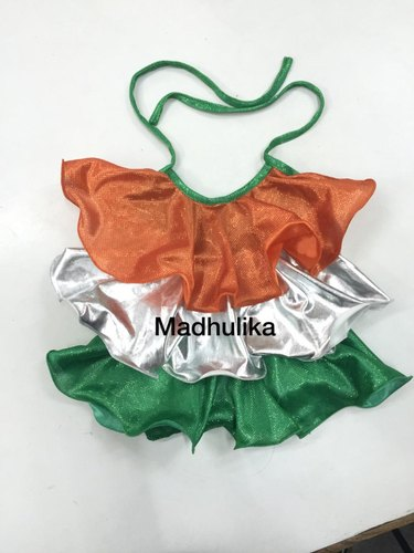 Tri colour Western Dance Costumes