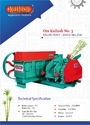 Sugarcane Crusher No.3 Deluxe Heavy