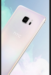 Silver HTC U Ultra Dual Sim Mobile Phone