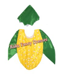 Kids Corn Cutout Costume