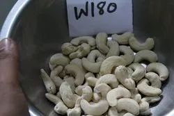 White Raw Cashew Nut W180, Packing Type: Tin, Packaging Size: 10 kg