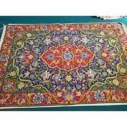 Designer Kashmiri Silk Carpet