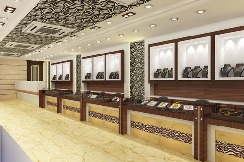 Jewellery Showroom Interior Designers In Mogair East