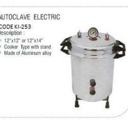 Autoclave Cooker Model Portable