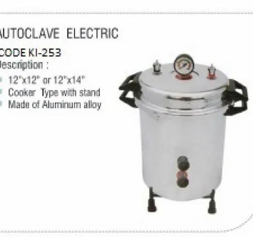 Autoclave Cooker Model Portable