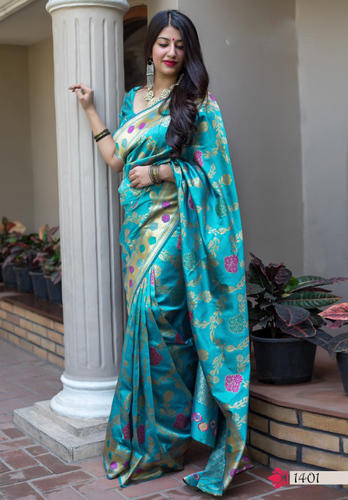 Multi Color Banarasi Saree