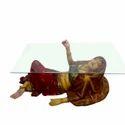 Rajasthani Lady Center Table