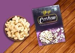 Yogi Natural Roasted Cashew Nuts, Grade: W240, Packaging Size: 500gm