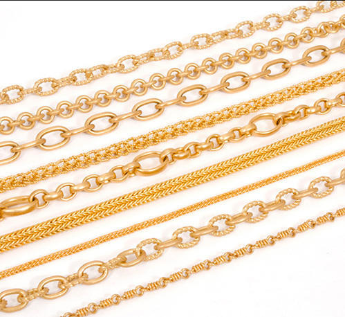 jewellery gold owned belcher chains pre chain yellow mallard jewellers glod figaro preowned