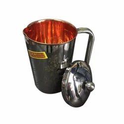 Copper Steel Jug
