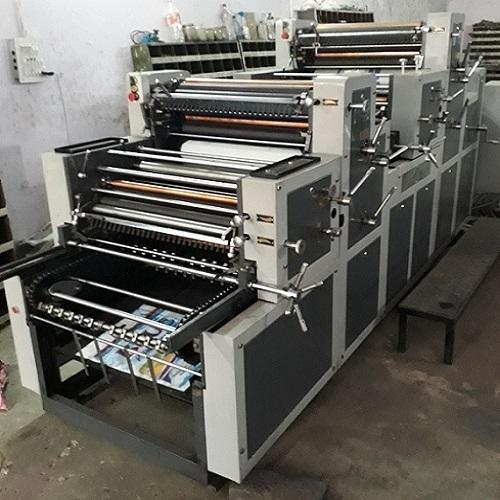 Multi Color Non Woven Bag Printing Machine