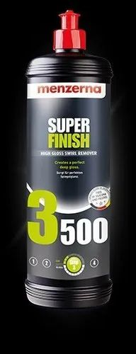 Liquid 3500 Menzerna Super Finish for Automobiles, Packaging Type: Bottle