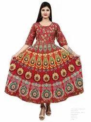 Female Printed Dress