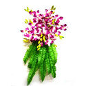 Orchid Palm Wall Bouquet