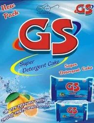 LIME GS SUPER DETERGENT CAKE, Shape: Square, Packaging Size: 150gms And 300gms
