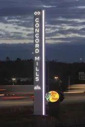 Pylon Sign Board for Advertising