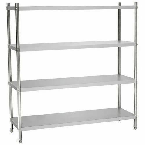 Stainless Steel Storage Rack  sc 1 st  IndiaMART & Stainless Steel Storage Rack at Rs 17000 /piece | Sunkadakatte ...
