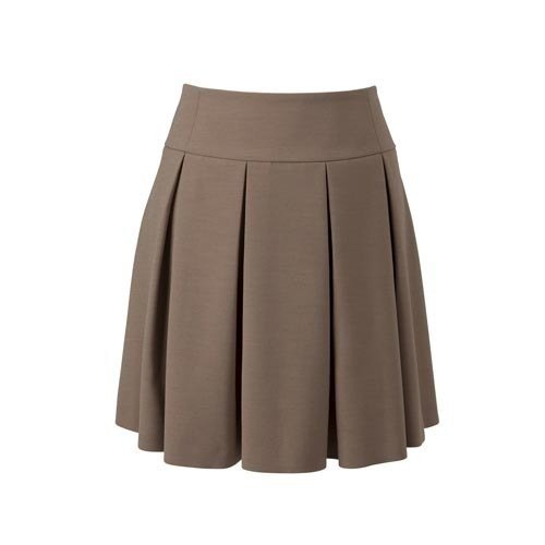 8f81ac4f7 Girls Knee Length School Brown Skirt, Rs 577 /piece, Reeya Trendz ...
