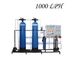 Automatic Apricot 1000 LPH Industrial RO Plant