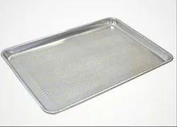 Aluminium Rectangular Baking Tray ( Corrugated & Perforated )