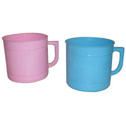 Colored Plastic Bath Mug