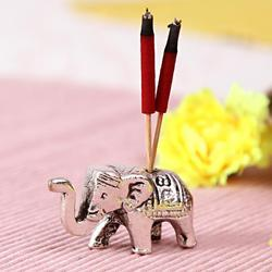 Elephant Incense Stick Holder