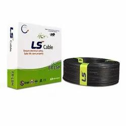 LS Cable House Wire FR-LSH 4.0 Sqmm - Made in India with Korean Technology