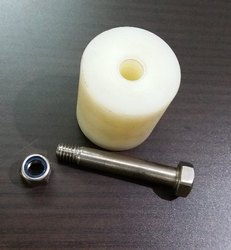 Nylon and ss304 Return Nylon Roller with SS Stud