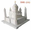 Marble Plain Taj Mahal